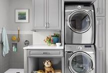 Mud Room ideas / Mud Room - Laundry Room ideas for cabinets, colors, accessories
