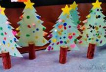 Christmas | Craft Ideas / I LOVE Christmas! Our house resembles Santa's grotto as soon as December 1st comes around. Here are a few activities and crafts to try during the festive season.