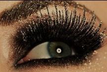 All that glitters / shimmery/glitter eye shadows / by Ahsin :)