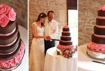 The Cakes / Some of the most amazing wedding cakes we see here at Priston Mill.