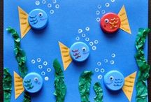 Continents and Oceans / Great activities, recipes, and crafts for kids to learn about Continents and Oceans!