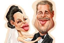 Celeb Caricatures / by Ahsin :)