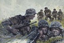 WW2 GERMAN INFANTRY PARATROOPERS AND CAVALRY / by Henry Price