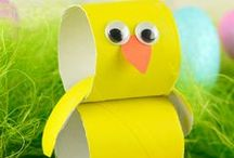 Easter | Crafts for Kids / Easter is so much fun for kids, so many cute craft ideas to try. Here you will find a selection of the best!