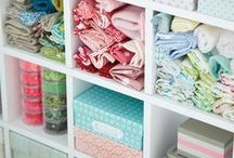 Craft room ideas / Clever storage solutions and organisation of craft space