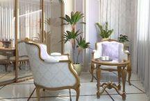 Дизайн интерьера квартиры / Классика в золоте