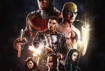 Defenders / Daredevil, Jessica Jones, Luke Cage and Iron Fist