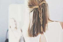 HAIR / Mostly just plaits and pretty ponytails...