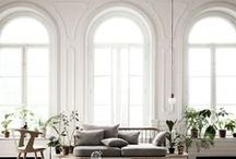 I N S P I R I N G  S P A C E S / #upholstery #furniture #spaces #ideas #inspiration