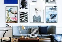 Poster Wall Inspo / Inspiration for your own gallery