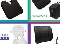 Sit&Sigh Products to relieve Back, Pelvic or Coccyx Pain / Sit & Sigh's product range. We provide cushions to help manage and relieve pelvic, leg and back pain.  If you suffer from sciatica, lumbar pain, pregnancy-related back pain, pelvic girdle pain, symphysis pubis dysfunction, coccyx/tailbone pain, fibromyalgia, hip pain, disc degenerative disease, and/or other bone or tissue-related issues, we have a cushion that will help relieve your pain.