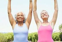 Exercise Tips for Senior Citizens / Staying active is important, no matter our age. This board offers some useful tips and exercises for senior citizens or people with decreased mobility.