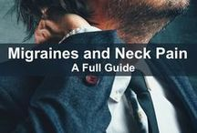 Neck Pain Info and Tips for Relief / Neck pain...now there's a real pain in the neck! Here are some tips on how to deal with or relieve the pain and also extra facts about neck pain.