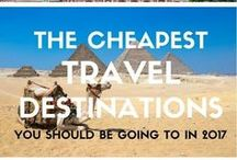 Budget Travel / Cheap destinations |  Budget tips | Backpacking tips