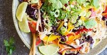 Tasty Salad Recipes / Whether it's a side, main or a snack, you will find every type of salad here.