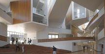 Interior / #Interior #Interiordesign #Staircases #Stairs #Columns