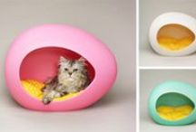 Design for cats / Stylish accessories and design ideas for cats .