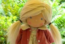 Bibi Butterscotch Dolls, Waldorf inspired dolls / Waldorf dolls, made by Esther (Bibi Butterscotch Dolls)