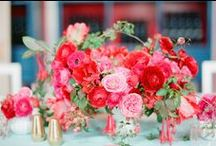 Floral Inspiration: Reds and Pinks