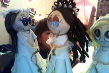 mis fofuchas de la primera comunión 2014