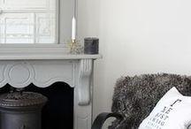 Interior white, gray and black / Restyling woonkamer ©BIJ Ieke