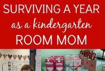 Kindergarten Room Mom / Tips and ideas for kindergarten classrooms!