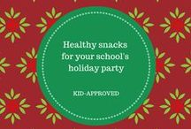 Healthy Holiday Class Party Snacks