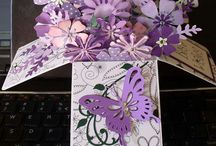 Butterfly cards. / Cards