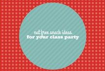Nut Free Classroom Party Snack Ideas