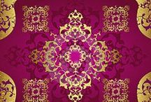 Décor Design / Spiritual designs that are Maori have been infused with the rich colour combinations of the Ottoman Empire