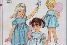 Vintage Sewing Patterns Girls 1960's & 1970's / Vintage sewing patterns we have available plus others from other sites. www.vintagestitching.com