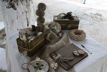 Wooden Button / Christening Decoration