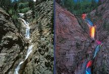 The Broadmoor - Seven Falls / Seven Falls is privately owned, but dedicated to preserving and protecting the natural landscape of one of Colorado's finest gems. We invite you to join us in promoting this cause and in celebrating our rich history of Seven Falls.
