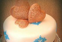 Saját készítésü tortáim/My own cakes / Néhány éve kezdtem el torta készítéssel foglalkozni hobbiból./ I make cakes some years ago as a hobby.