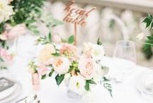 Weddings | Tablescapes / by The Curated Bride