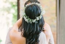 Weddings | Flowers In Her Hair / by The Curated Bride