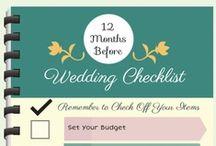 Wedding Planning Infographics