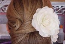 W E D D I N G {hair and make-up} / Ideas for hair and makeup for the wedding - June 2014