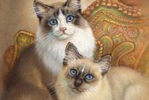 Gorgeous and adorable paintings