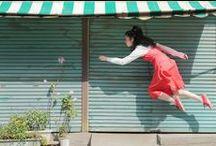 ☂ H. N a t s u m i / flying people / by Fernfern Yaweera