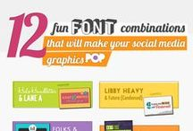 Fonts / Fonts you can use to make your graphics even more interesting!