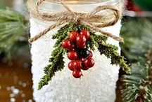 Winter Holidays / Decorations, Ideas, Hacks, and More for the Winter Holidays! / by I want my CAKE
