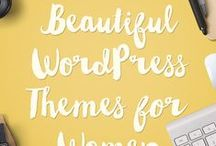 WordPress Themes For Women 2016 / Here are some beautiful wordpress themes for creative women bloggers and small business owners.