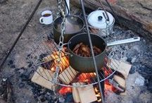 Camping Recipes and Tips / Camping recipes for camp stoves and campfires, plus tips for camping.