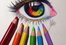 Colored Drawing / ( Farebné Kreslenie )