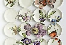 Miniature Plates & Porcelains The Best artists & DYI's <3