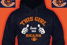 "chicago bears  ""closet "" / Love my Chicago Bears....feel free to pin all u like / by Charlesa Olson"