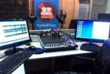 ESTUDIOS RADIO 97uno Arica / Así eran los estudios de Radio 97uno hasta octubre del 2013