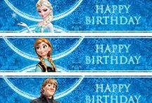 Kids *Frozen* Party / { Malan & Simone se Frozen Partytjie }