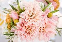 Dahlias Bridal Bouquet